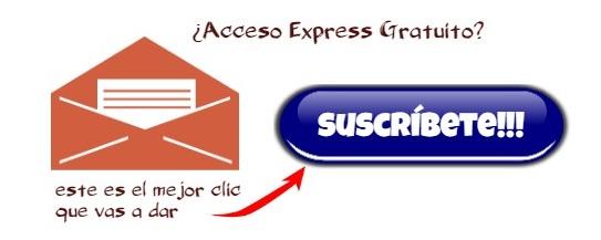Suscríbete al Blog y tendrás Acceso Express a todo el contenido.